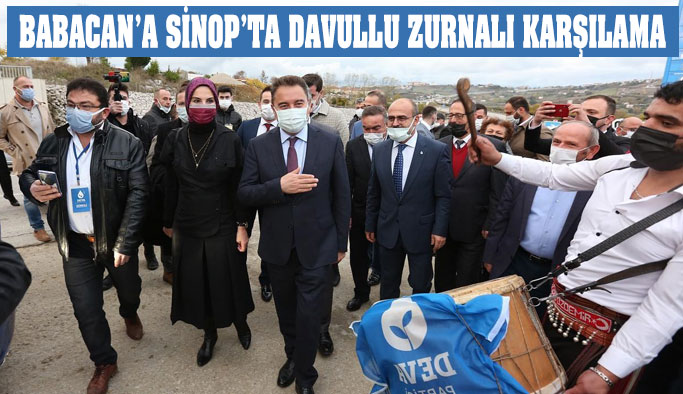 Babacan, Sinop'tan Hükümete Yüklendi