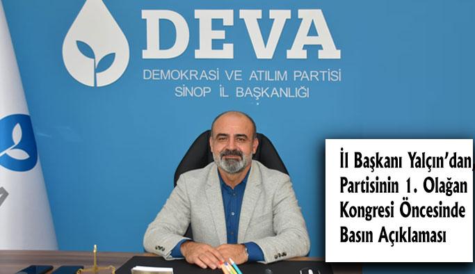 Babacan, Sinop'a Geliyor