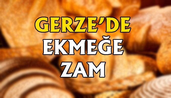 Gerze'de ekmeğe % 16,6 oranında zam yapıldı
