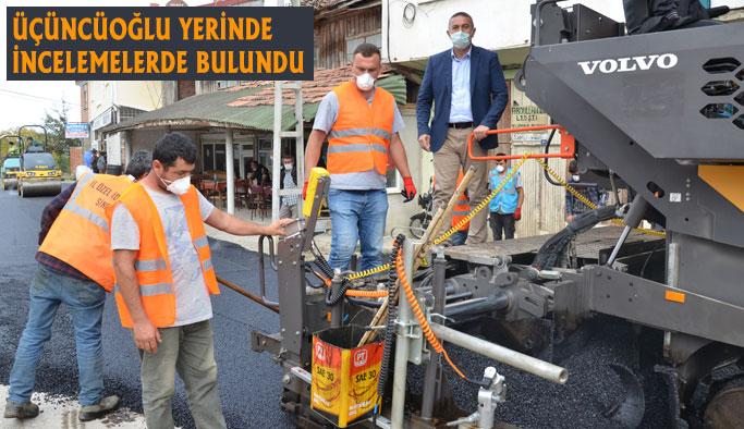 """""""Köy Grup Yollarımızı Sıcak Asfalt Yapacağız"""""""