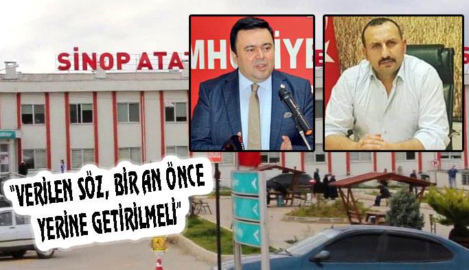 """""""SAĞLIK, SİYASET ÜSTÜ BİR KONUDUR"""""""