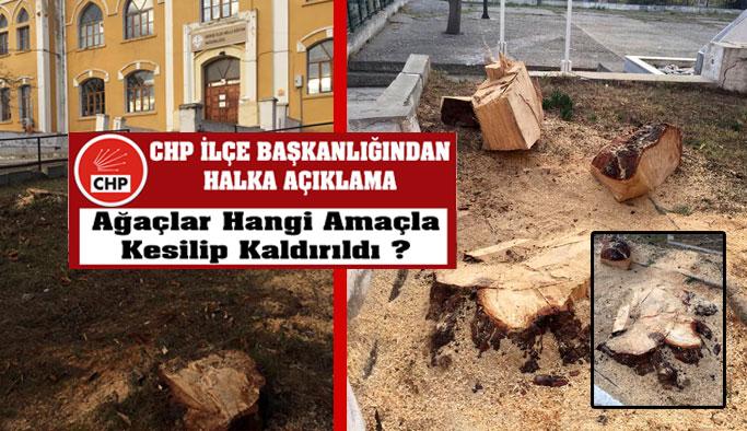 CHP İlçe Örgütü Yetkililerden Açıklama Bekliyor