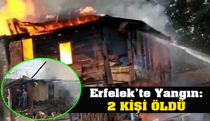 Erfelek'te Yangın: 2 Kişi Öldü