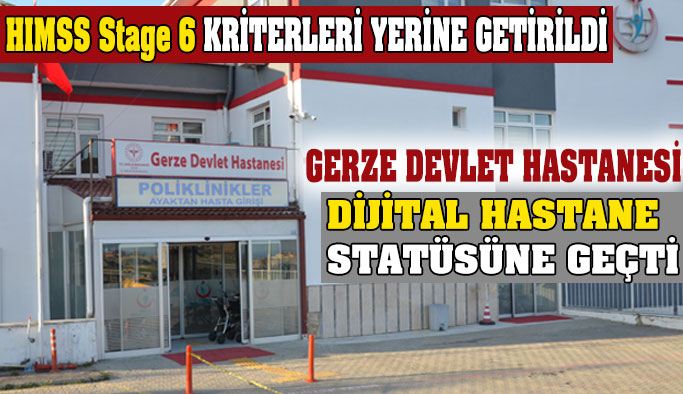 Gerze Devlet Hastanesi, Dijital Hastane Statüsüne Geçti