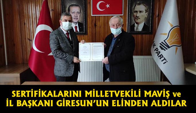 Sinop'ta Siyaset Akademisi Eğitimleri Tamamlandı