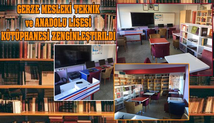 Mevcut Kütüphane Zenginleştirildi