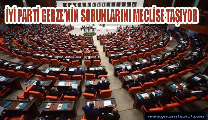 İYİ Parti Gerze'nin sorunlarını meclise taşıyor