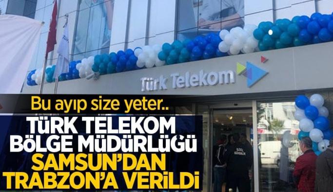 Türk Telekom Samsun Bölge Müdürlüğü'nün kapatılma haberi tepkiyle karşılandı
