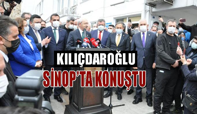Kılıçdaroğlu, Sinop'ta