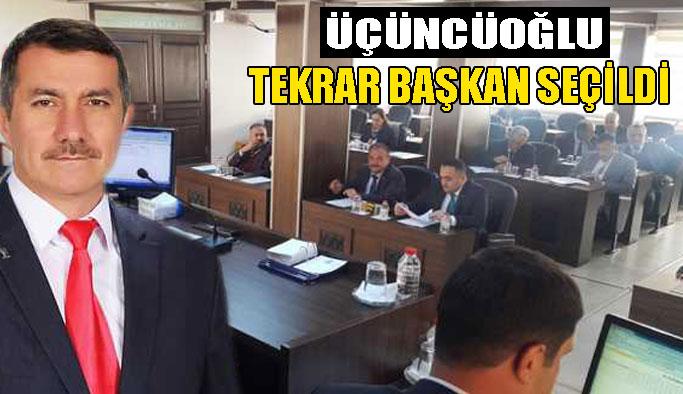 Meclis, Üçüncüoğlu'nu tekrar başkan seçti
