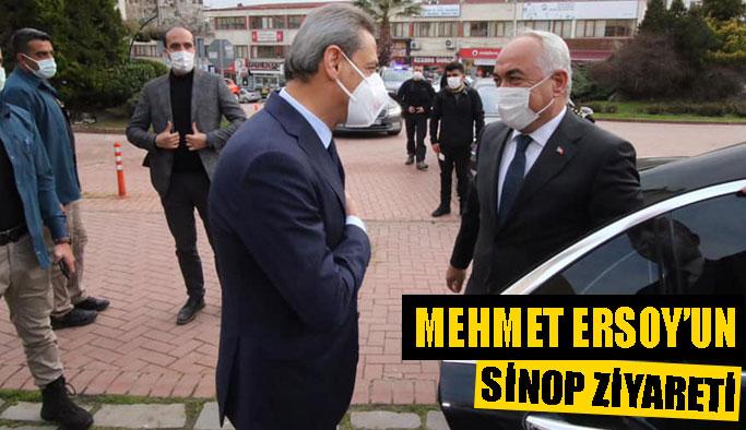 Mehmet Ersoy, Sinop'ta