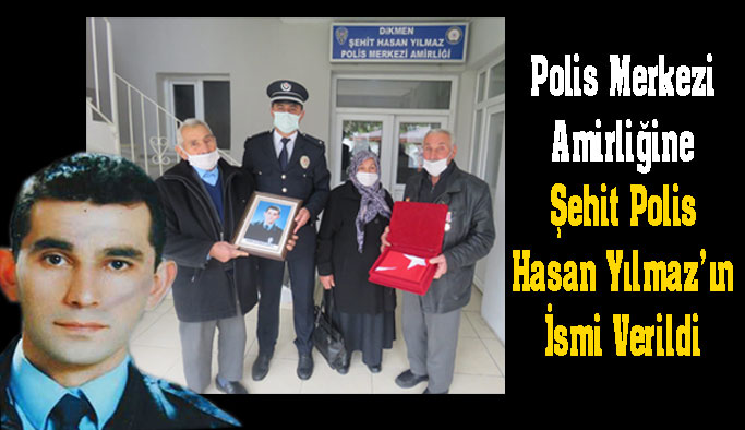Şehit polis memurunun ismi, polis merkezinde yaşatılacak