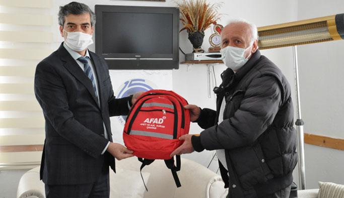"""""""Sinop ve ilçelerimizde görev yapan basın mensuplarımıza afet eğitimi vermek istiyoruz"""""""