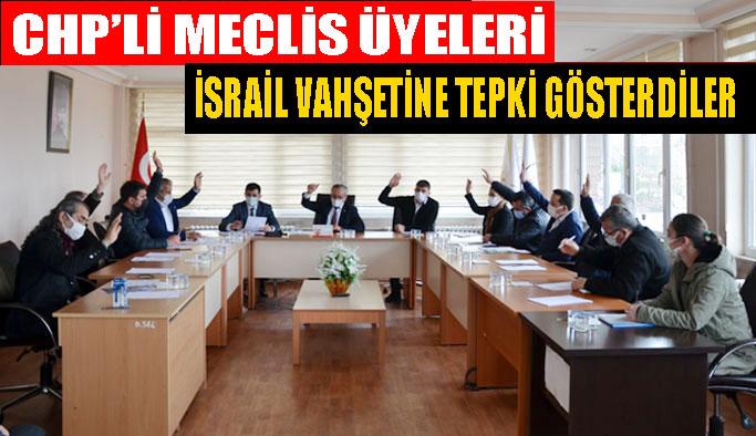 CHP'li Meclis Üyeleri İsrail'i Kınadı