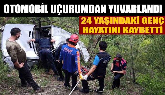 Sarnıç köyünde korkunç kaza: 1 ölü!