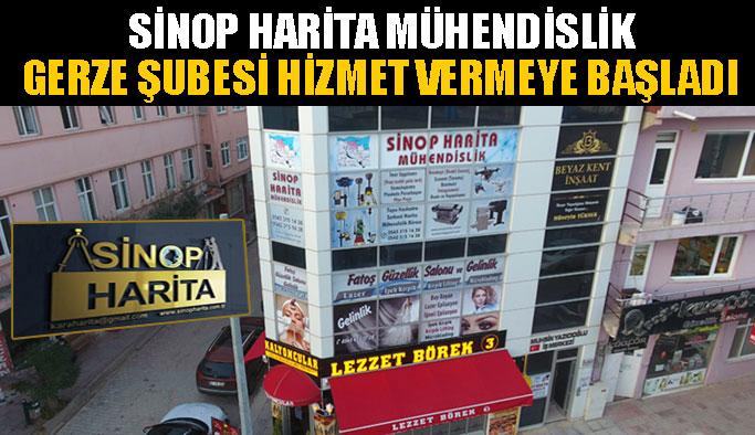 Sinop Harita Gerze Şubesi Açıldı