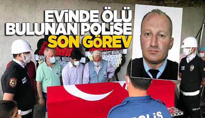 Polis Memuru Gül Toprağa Verildi