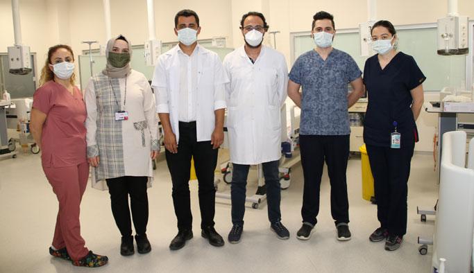 Sinop Atatürk Devlet Hastanesine İnme Ünitesi Açıldı
