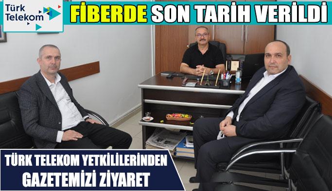 Sinop Türk Telekom'dan Ziyaret