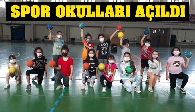 Gençlik ve Spor Bakanlığı Spor Okulları Açıldı