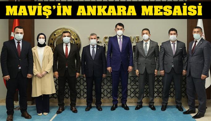 Maviş'in Sinop Heyetiyle Ankara Mesaisi