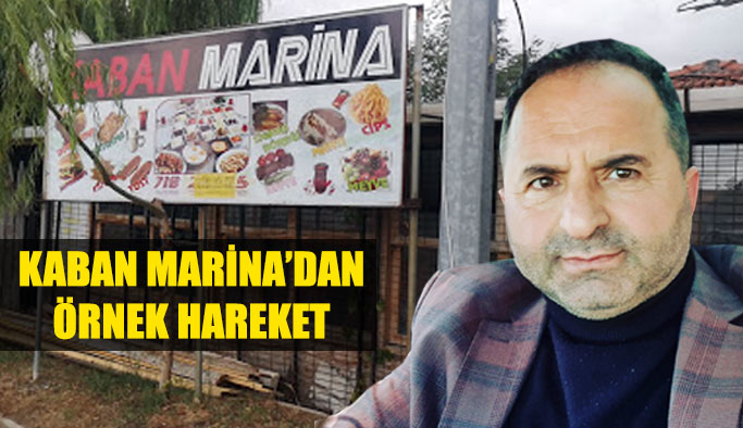 Kaban Marina'dan Hassasiyet