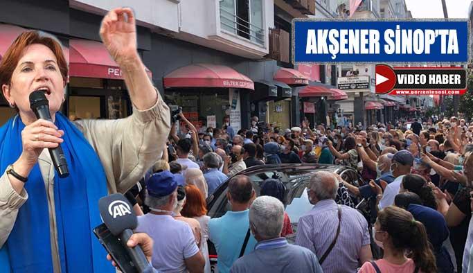 Vatandaştan, Akşener'e yoğun ilgi