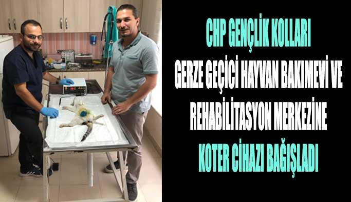 CHP'den 'hayvan barınağına' bağış