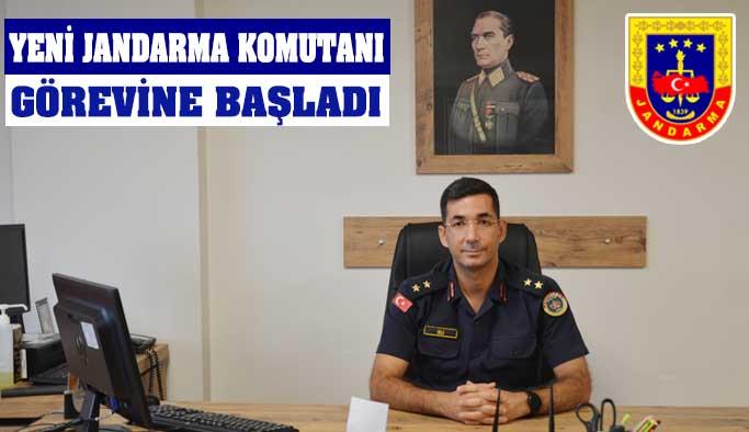 Gerze'nin Yeni Jandarma Komutanı Göreve Başladı