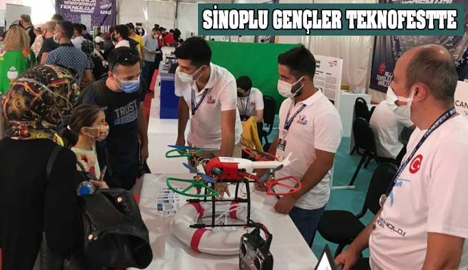 Sinoplu Gençler Teknofest'te Yarıştılar