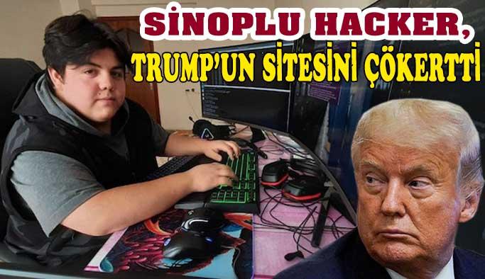 Sinoplu hacker, Donald Trump'ın sitesini çökertti