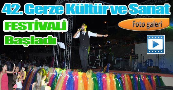 42.Sanat ve Kültür Festivali Başladı