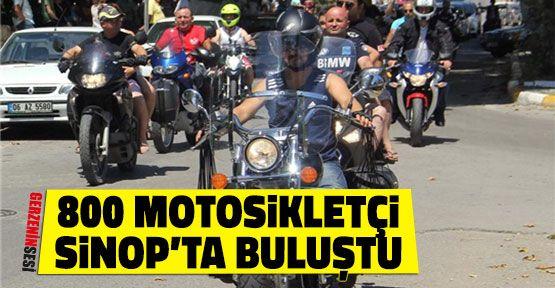 5. Uluslararası Sinop Motosiklet Festivali Başladı