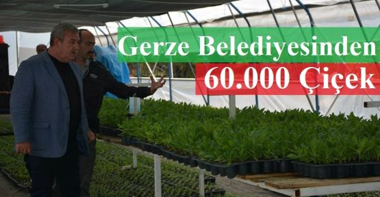 60 Bin Çiçek Dikilecek