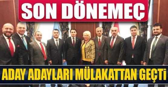 Aday Adayları Ankara'da Ter Döküyor