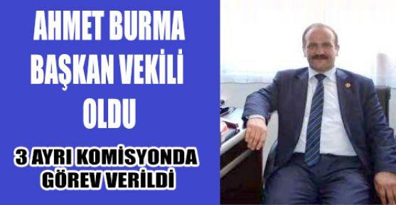 Ahmet Burma Başkan Vekili Oldu