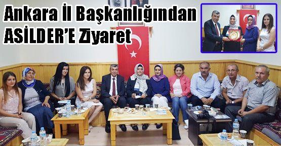 AK Parti Ankara İl Başkanlığından ASİLDER'E Ziyaret
