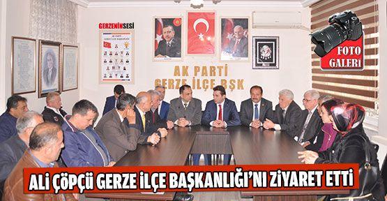 Ak Parti İl Başkanı Gerze İlçe Teşkilatı'nı Ziyaret Etti