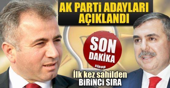 AK Parti Sinop'ta aday listesini açıkladı
