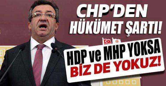 """Altay; """"MHP VE HDP YOKSA BİZDE YOKUZ!"""""""