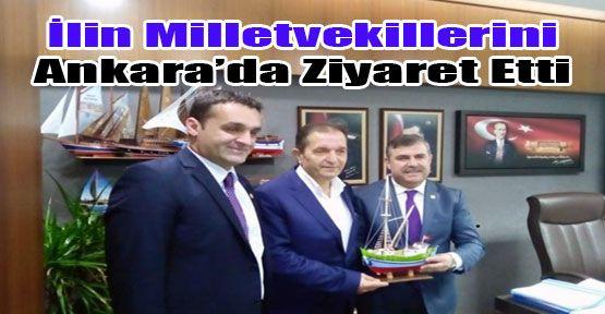 Ankara'da Ziyaret Etti