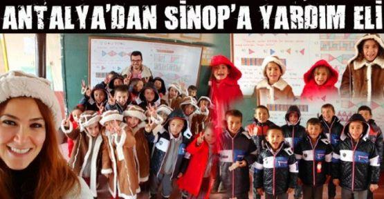 ANTALYA'DAN SİNOP'A YARDIM ELİ