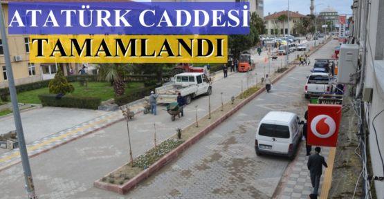 Atatürk Caddesi Tamamlandı