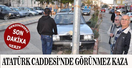 Atatürk Caddesi'nde Kaza