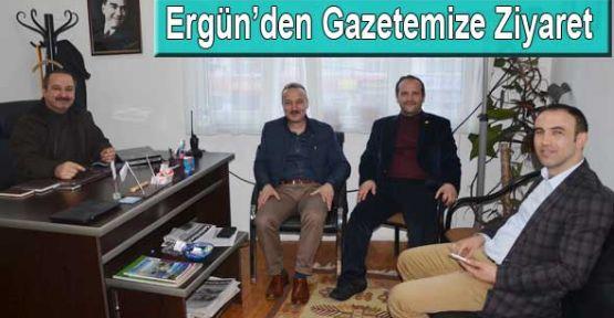 Ayancık Belediye Başkanından Gazetemize Ziyaret