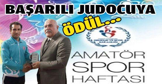 Başarılı Judocu Ödüllendirildi