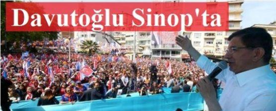 Başbakan Prof. Dr. Ahmet Davutoğlu  Sinop'lulara seslendi