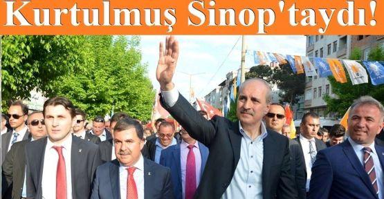 Başbakan Yardımcısı Numan Kurtulmuş Sinop'taydı