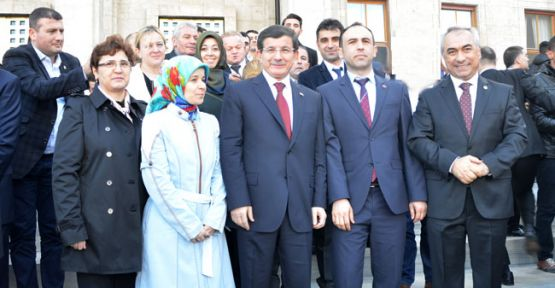 Başbakan'ın Grup Toplantısına Katıldılar