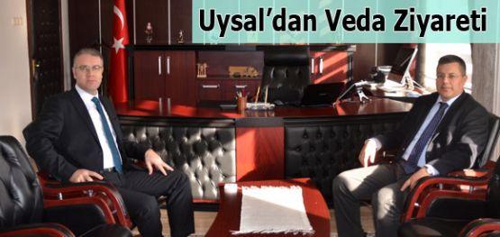 Başsavcı Uysal'dan Veda Ziyareti